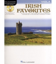 Instrumental Play-along Irish Favorites + Cd - Viola
