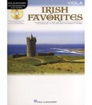 Instrumental Play-along Irish Favorites + Cd - Viola