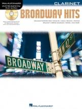 Instrumental Play Along - Broadway Hits + Cd - Clarinet