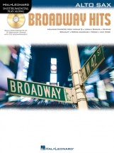 Instrumental Play Along - Broadway Hits + Cd - Alto Saxophone
