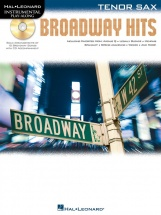 Instrumental Play Along - Broadway Hits + Cd - Tenor Saxophone
