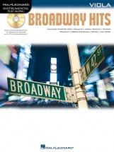 Instrumental Play Along - Broadway Hits + Cd - Viola