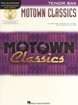 Instrumental Play Along - Motown Classics Tenor Sax + Cd - Tenor Saxophone