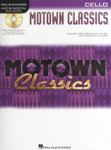 Instrumental Play Along - Motown Classics + Cd - Cello