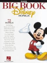 The Big Book Of Disney Songs Instrumental Folio - Flute