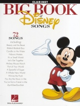 The Big Book Of Disney Songs Instrumental Folio - Clarinet