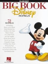 The Big Book Of Disney Songs Instrumental Folio - Clarinet