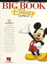 The Big Book Of Disney Songs Instrumental Folio Alto Saxophone - Alto Saxophone