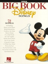 The Big Book Of Disney Songs Instrumental Folio - Horn