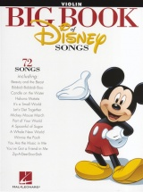 The Big Book Of Disney Songs Instrumental Folio - Violin