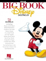 The Big Book Of Disney Songs Instrumental Folio Cello - Cello