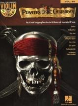 Violin Play Along Volume 23 Pirates Of The Caribbean + Cd - Violin