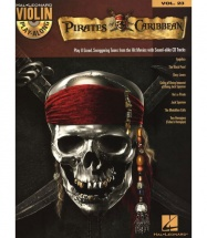 Violin Play Along Volume 23 Pirates Of The Caribbean + Cd - Violin