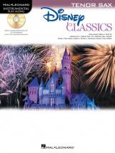 Disney Classics Instrumental Play Along - Tenor Sax + Cd - Tenor Saxophone