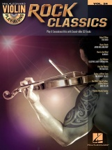 Violin Play Along Volume 24 Rock Classics + Cd - Violin
