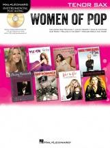 Instrumental Play-along Women Of Pop + Cd - Tenor Saxophone
