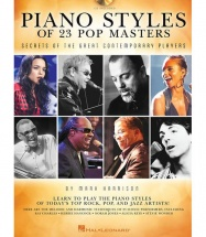 Harrison Mark Piano Styles Of 23 Pop Masters + Cd - Piano Solo