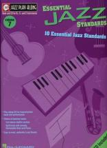 Jazz Play Along Vol.07 Essential Jazz Standards Bb, Eb, C Inst. Cd