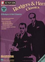 Jazz Play Along Vol.21 Rodgers & Hart Bb, Eb, C Inst. Cd
