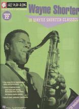 Jazz Play Along Vol.22 Wayne Shorter Bb, Eb, C Inst. Cd