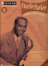 Jazz Play Along Vol.26 Charlie Parker Bb, Eb, C Inst. Cd