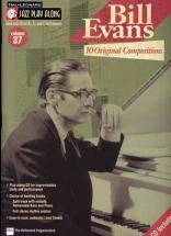 Jazz Play Along Vol.37 Bill Evans Bb, Eb, C Inst. Cd