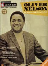 Nelson Oliver - Jazz Play Along Vol.44 + Cd - Bb, Eb, C Instruments