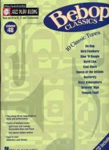 Jazz Play Along Vol.48 : Bebop Classics + Cd -  Vents Bb Eb C