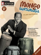 Jazz Play Along Vol.61 Mongo Santamaria Bb, Eb, C Inst. Cd