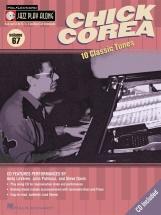 Jazz Play Along Vol.67 Chick Corea Bb, Eb, C Inst. Cd