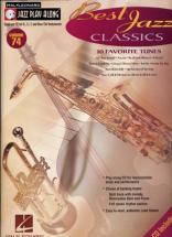 Jazz Play Along Vol.74 - Best Jazz Classics + Cd - Bb, Eb, C Instruments