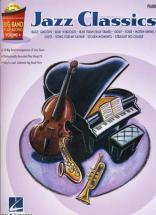 Big Band Play Along Vol.4 Jazz Classics + Cd - Piano