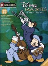 Jazz Play Along Vol.93 Disney Favorites + Cd