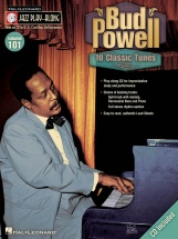 Jazz Play Along Volume 101 - Bud Powell All Instruments + Cd - E Flat Instruments
