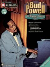 Jazz Play Along Volume 101 - Bud Powell All Instruments + Cd - E Flat Instruments