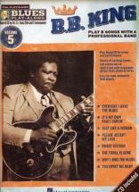 B.b.king - Blues Play Along Vol.5 + Cd - Bb, Eb, C Instruments