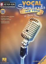Jazz Play Along Vol.128 Vocal Standards Low Voice  + Cd