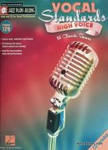 Jazz Play Along Vol.129 Vocal Standards High Voice + Cd