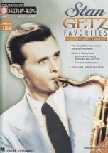 Jazz Play Along Vol.133 Stan Getz Bb, Eb, C Inst.cd