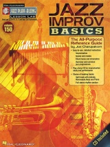 Jazz Play Along Volume 150 - Jazz Improv Basics All Inst + Cd - B Flat Instruments