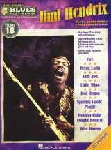 Blues Play Along Volume 18 Hendrix Jimi All Instruments + Cd - C Instruments