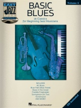 Easy Jazz Play Along Volume 4 Basic Blues + Cd - All Instruments