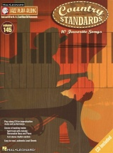 Jazz Play Along Volume 145 Country Standards All Instrument + Cd - E Flat Instruments