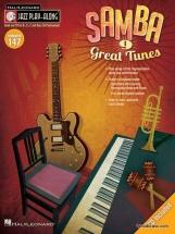 Jazz Play Along Vol.147 Samba - Bb, Eb, C Inst. Cd