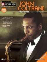 Jazz Play Along Vol.149 John Coltrane Favorites - Bb, Eb, C Inst. Cd
