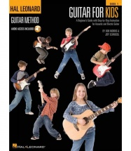 HAL LEONARD GUITAR METHOD GUITAR FOR KIDS + MP3 - GUITAR