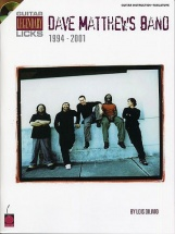 Guitar Legendary Licks Dave Matthews Band 1994-2001 Tab + Cd - Guitar Licks - Guitar Tab
