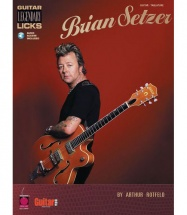 SETZER BRIAN - GUITAR LEGENDARY LICKS + MP3