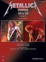 Metallica Guitar Riff By Riff Volume 2 - Pt. 1 - Guitar Tab