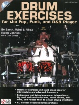 Drum Exercises For The Pop, Funk And R&b Player Drums + Cd - Drums